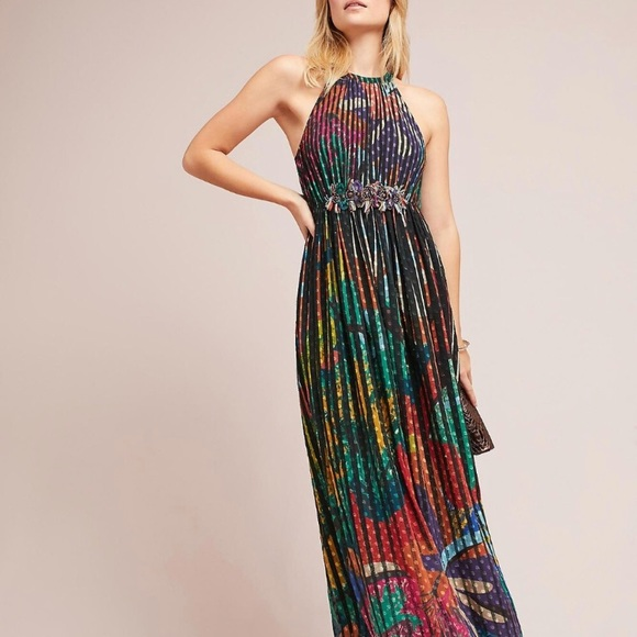 59af7746394 Anthropologie Dresses   Skirts - Colorful maxi dress from Anthropologie